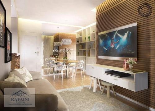 Apartamento Com 2 Dormitórios À Venda, 48 M² Por R$ 296.000,00 - Parque Das Nações - Santo André/sp - Ap0904