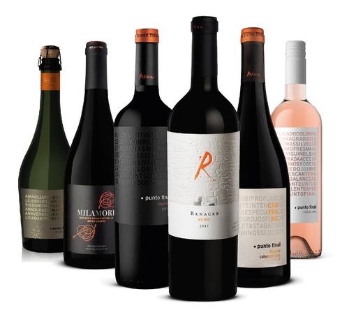 Vino Punto Final Mix Portafolio 6 Botellas