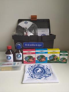 Kit Para Análise De Água Para Piscicultura Com Medidor De Ph