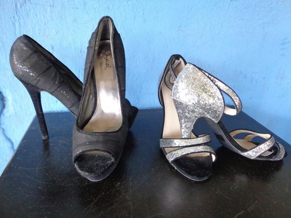 Zapatos De Damas De Tacon Talla 39