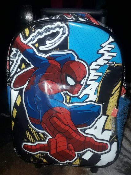 Mochila Jardin 12 Pulgadas Spider Man