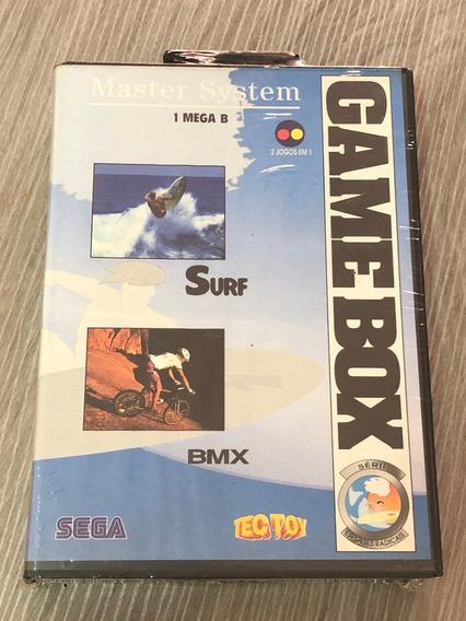 Master System : Game Box Serie Esportes Radicais Lacrado Nov