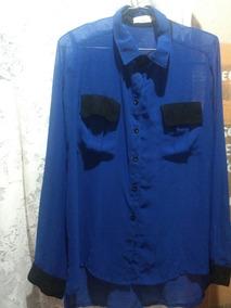 Camisa Transparente Cesaretti