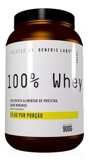 Whey Protein 100% Generic Labs - Promoção Menor Preço Ml