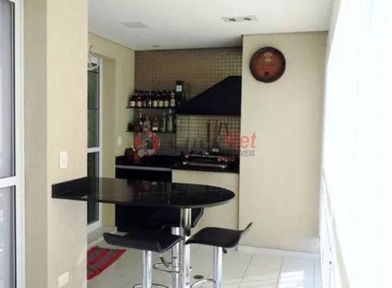 Belíssimo Apartamento Totalmente Mobiliado Em Condomínio Padrão Para Venda No Bairro Planalto Em São Bernardo - 4847
