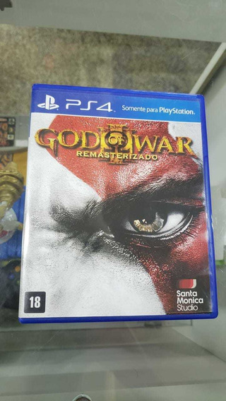 God Of War 3 Remasterizado Ps4 F351 Campinas