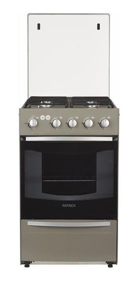 Cocina Patrick Cpf9651mvs - 51cm - Luz Y Enc. - Inox- Vidrio