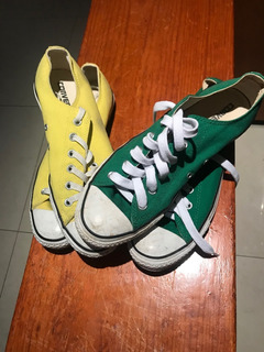 Tenis Converse Dos Colores Misma Talla