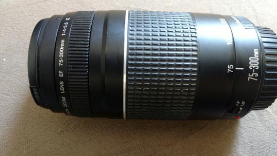 Lente Canon 75-300mm Usado