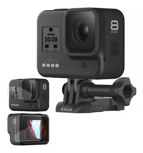 Câmera Hero 8 Black 4k Wifi + Película De Vidro Temperado