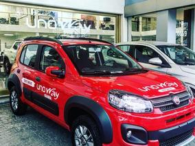 Nuevo Fiat Uno Way 0km 2018 -tomamos Planes - Gnc Opcional *