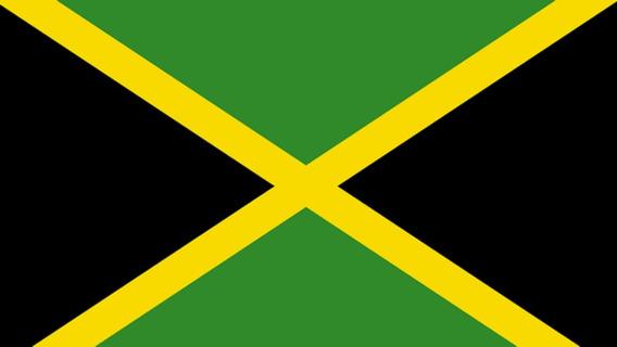 Placa Quadro Decorativo Da Bandeira Da Jamaica 28x20 Cm