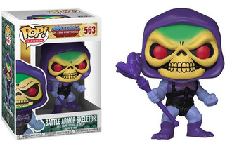 Funko Pop Animation Motu Battle Armor Skeletor 563