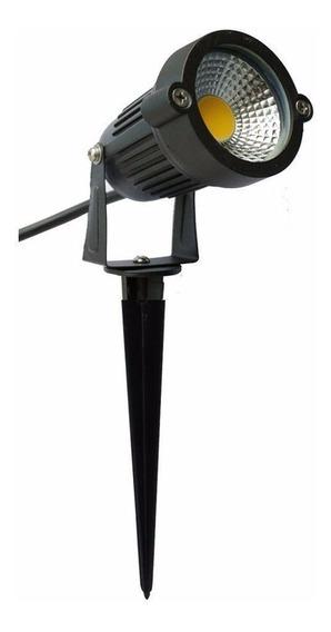 Kit 5 Luminaria Espeto Bivolt Alto Brilho Lançamento 7w
