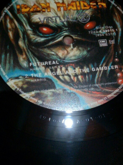 Iron Maiden Virtual Xi Lp Original De 1998