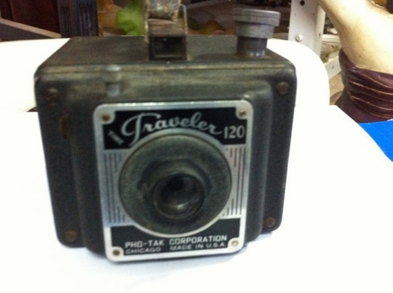 Antiga Câmera Fotográfica Time Traveler 120