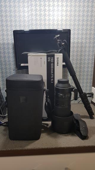 Lente Sigma 150 600 Nikon