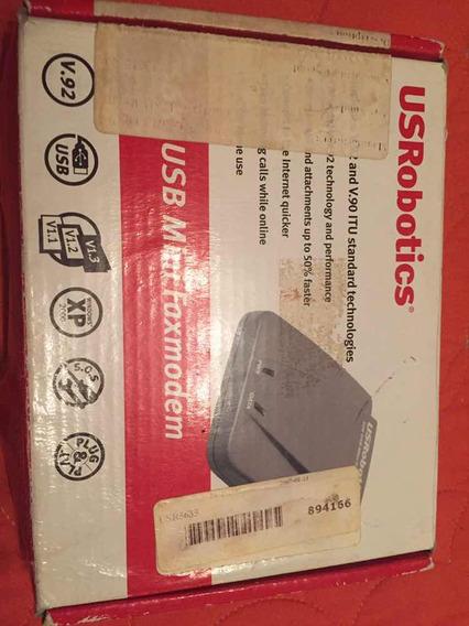 Modem Fax Usrobotics 56k Usb Coleccionistas