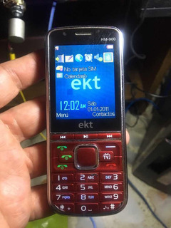 Celular Ekt Triple Sim Liberado Hm-900
