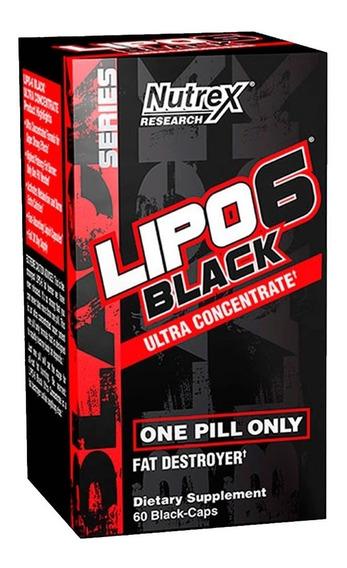 Lipo 6 Black Nutrex Ultra Concentrado 60 Capsulas