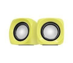 Caixa De Som Cross 6w Rms Amarelo