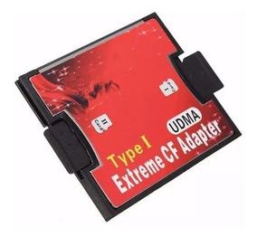 Adaptador Cartão Memória Micro Sd Para Compactflash Cf
