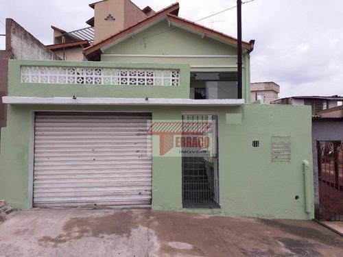 Casa Com 2 Dormitórios À Venda, 76 M² - Vila Linda - Santo André/sp - Ca0002