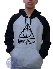 Blusa Harry Potter Moletom Canguru Raglan!!