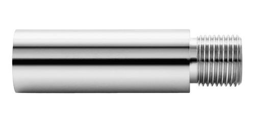 Imagem 1 de 2 de Prolongador Extensão Alongador Torneira 12cm 1/2 Cromado