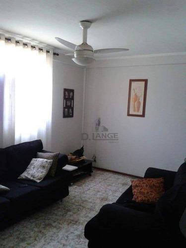 Apartamento Com 2 Dormitórios À Venda, 57 M² Por R$ 170.000,00 - Parque Residencial Vila União - Campinas/sp - Ap19618