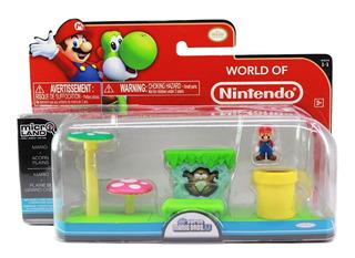 Figuras Set Nintendo Mario World Of Nintendo Juguetes