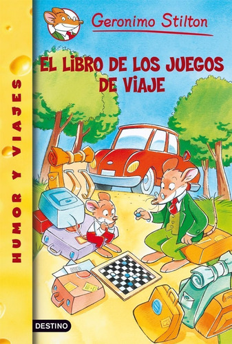 Imagen 1 de 2 de Stilton 34 - El Libro De Los Juegos De Viaje G.stilton