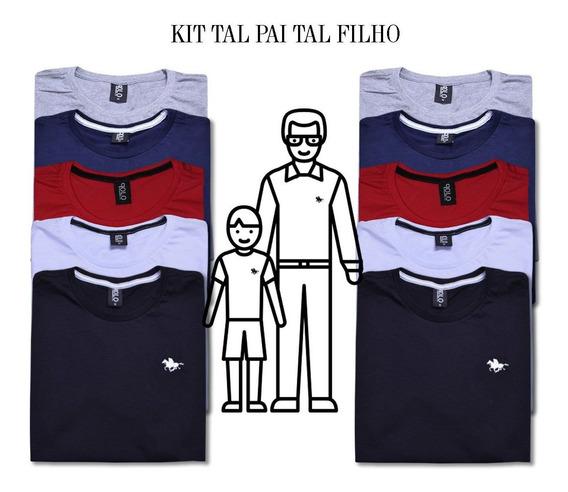 Kit Camiseta Masculina Tal Pai Tal Filho