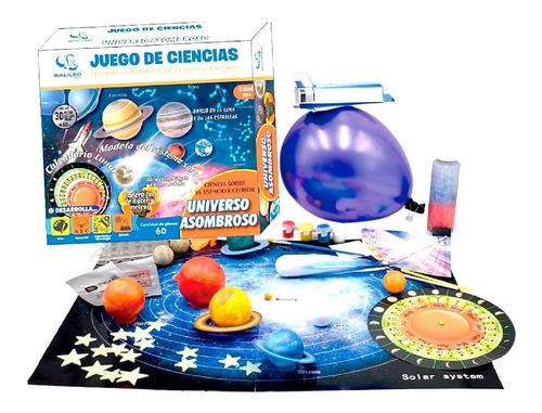Juego Ciencia Universo Asombroso Galileo Planetas Edu Full