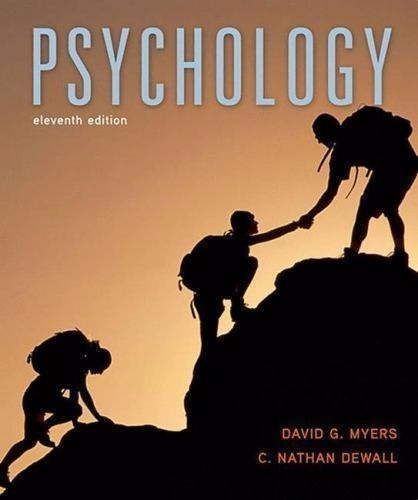 Livro - Psychology, 11th Edition - By David G. Myer
