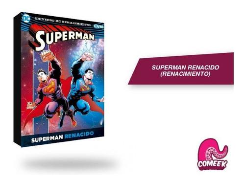 Imagen 1 de 2 de Comic Superman Renacido Rebirth Más Extras Dc Comics