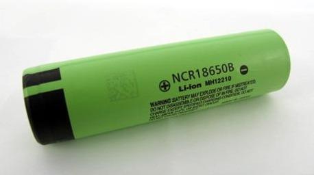 Batería 18650 Litio Recargable 3.400 Mah Japón