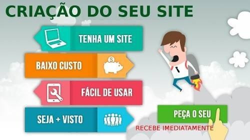 Template De Site C/ Logomarca Profissional