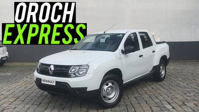 Renault Oroch Express 1.6 Completa 2018 C/ Ipva 2020 Pago