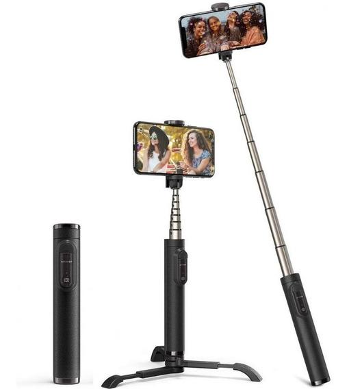 Bastão De Selfie Monopod Tripé Recarregável Blitzwolf Bw-bs9