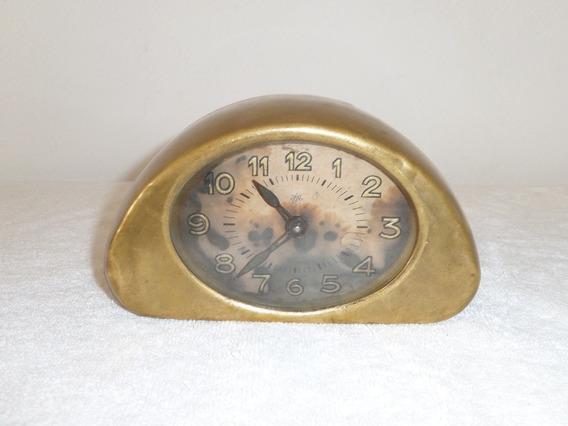 Antiguo Reloj Despertador Junghans De Laton Años 20´s