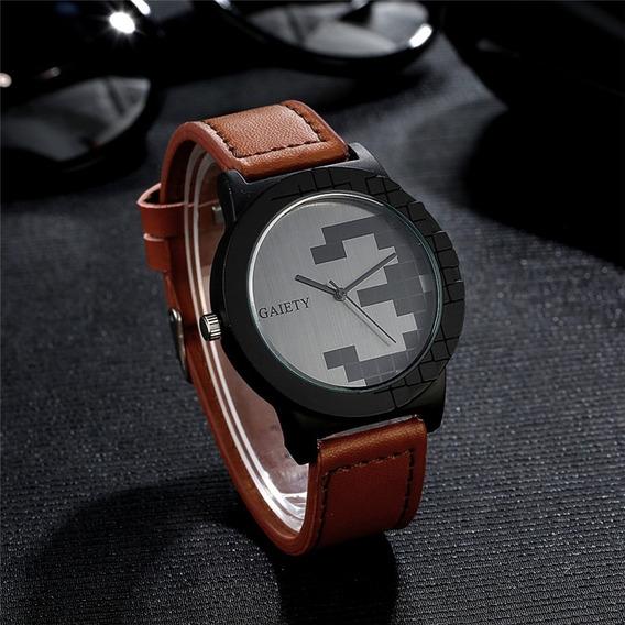 Relógio Gaiety Original Social Luxo Casual Estiloso Barato