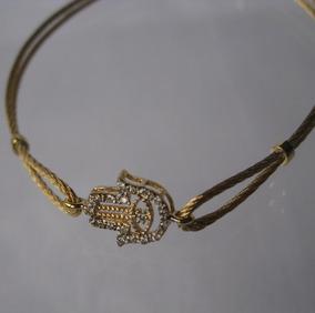 Pulseira Ouro Brilhantes 12 X S/juros Frete Grátis (072)