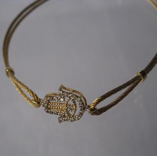 Pulseira Ouro 18 K (750) Brilhantes (072)