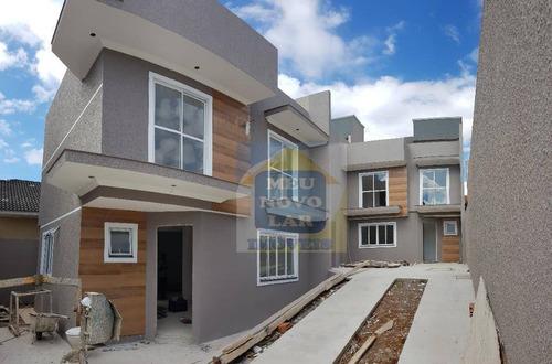 Imagem 1 de 30 de Sobrado Com 3 Dormitórios À Venda, 129 M² Por R$ 520.000,00 - Boqueirão - Curitiba/pr - So0318