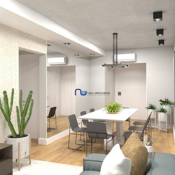 Apartamento Com 2 Dormitórios À Venda, 91 M² Por R$ 1.160 - Itaim Bibi - São Paulo/sp - Ap3801