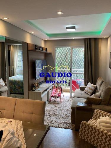 Imagem 1 de 15 de Vendo Lindo Apartamento 48 Mts - C/ Elevador - Lazer Completo -1 Vaga - 871