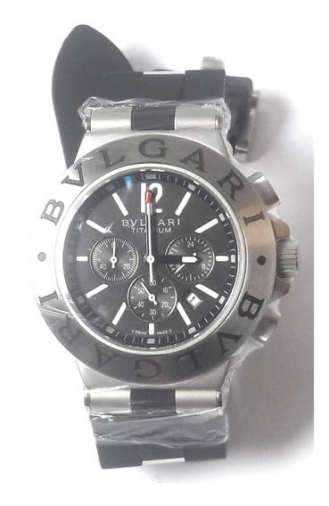 Relógio Bvll325 Titanium Funcional Bataria Borracha