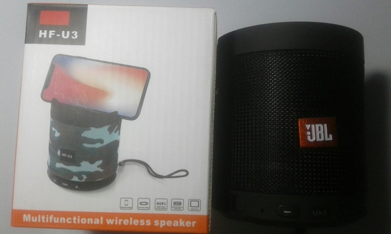 Caixa De Som Multifunctional Wireless E Speaker Hf-u3 Jbl