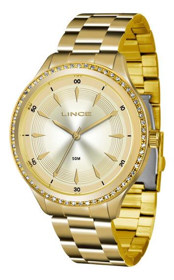 Relógio Lince Lrg4427l C1kx Urban Feminino Dourado- Refinado